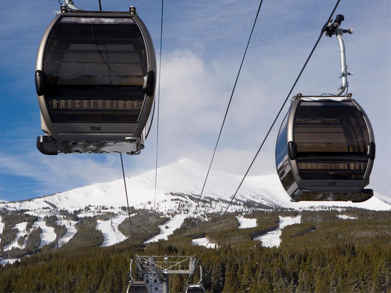 Two Breckenridge Gondolas