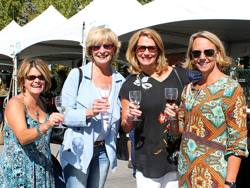 Ladies at the Wine Classic