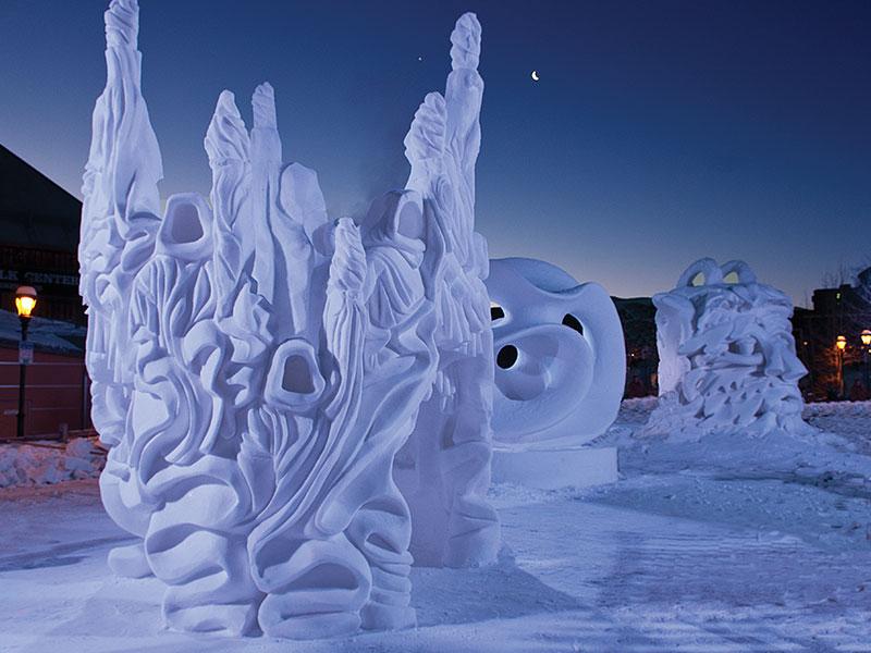 International Snow Sculpture Competition