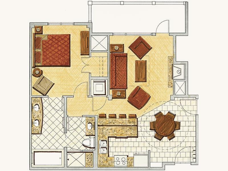 One-Bedroom Residence