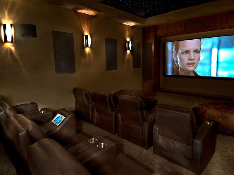 Grand Lodge On Peak 7 Movie Theater